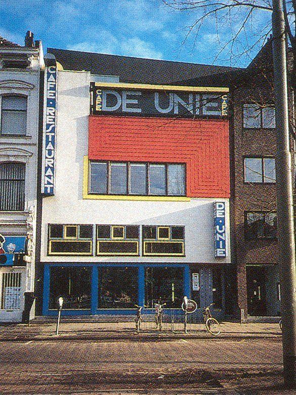 Vaak Cafe de Unie, Jacobus Johannes Pieter Oud (J. J. P. Oud), 1925 #OD98