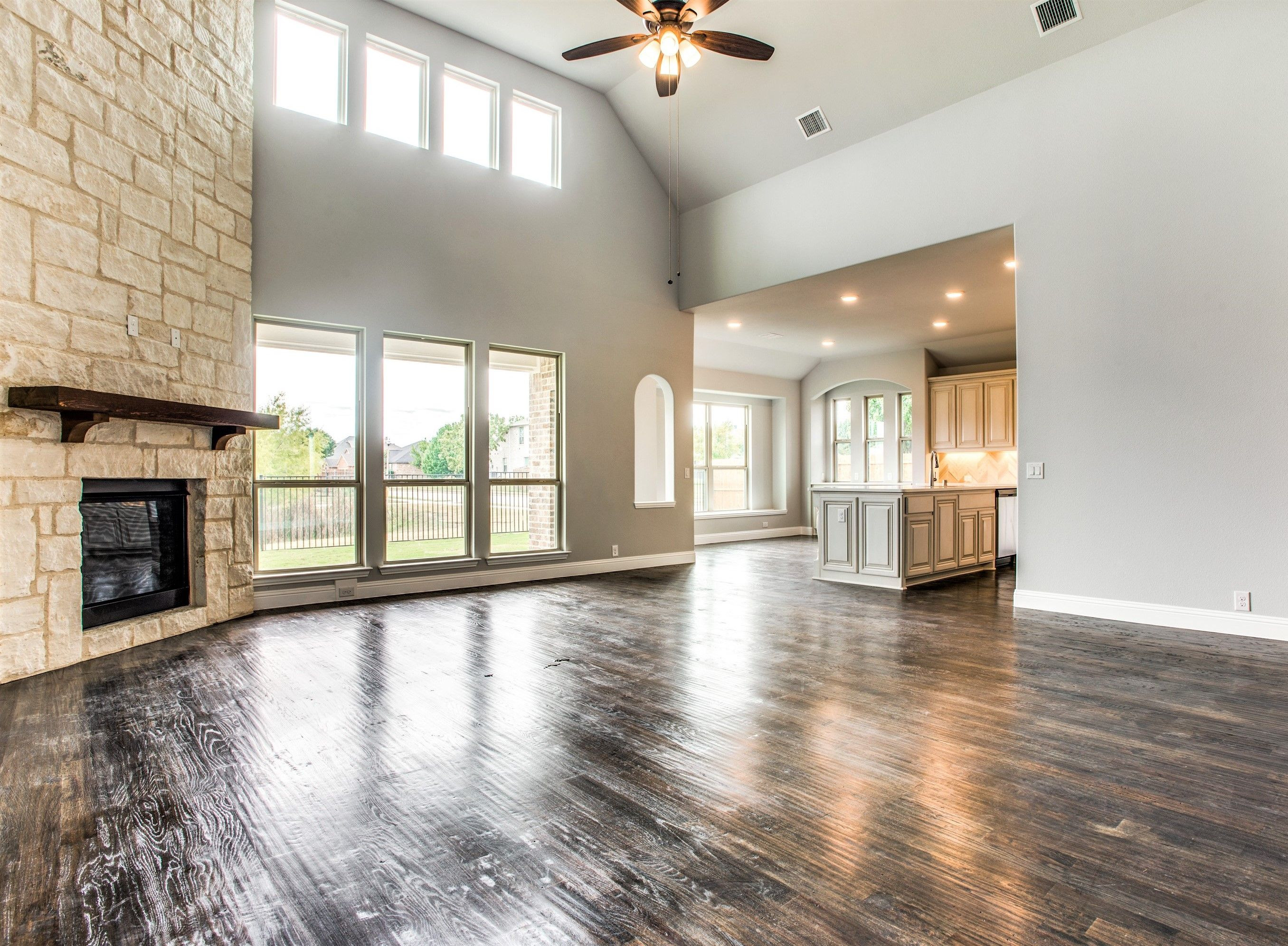 Look At This Space This Could Be Yours This Home Is A Primrose Fe B Floor Plan Learn More About This Fl Bloomfield Homes Log Home Kitchens House Plans