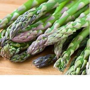 Home Grown: Growing Asparagus.  Always plant this perennial in a permanent location, preferably on the north side of the garden since it grows 3 to 4 feet tall.      Continued at...  Growing Asparagus http://www.farmersmarketonline.com/bk/OrganicGardening.htm#ASPARAGUS