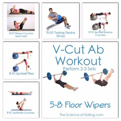 Workout to build those sexy  cut abs also men   health pinterest rh