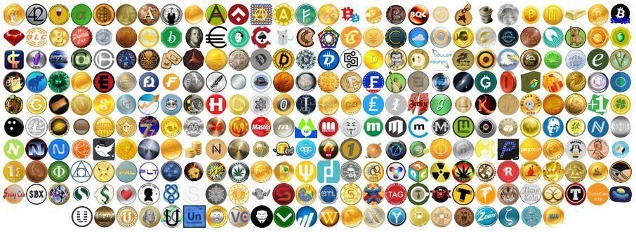 List of all cryptocurrency mysql