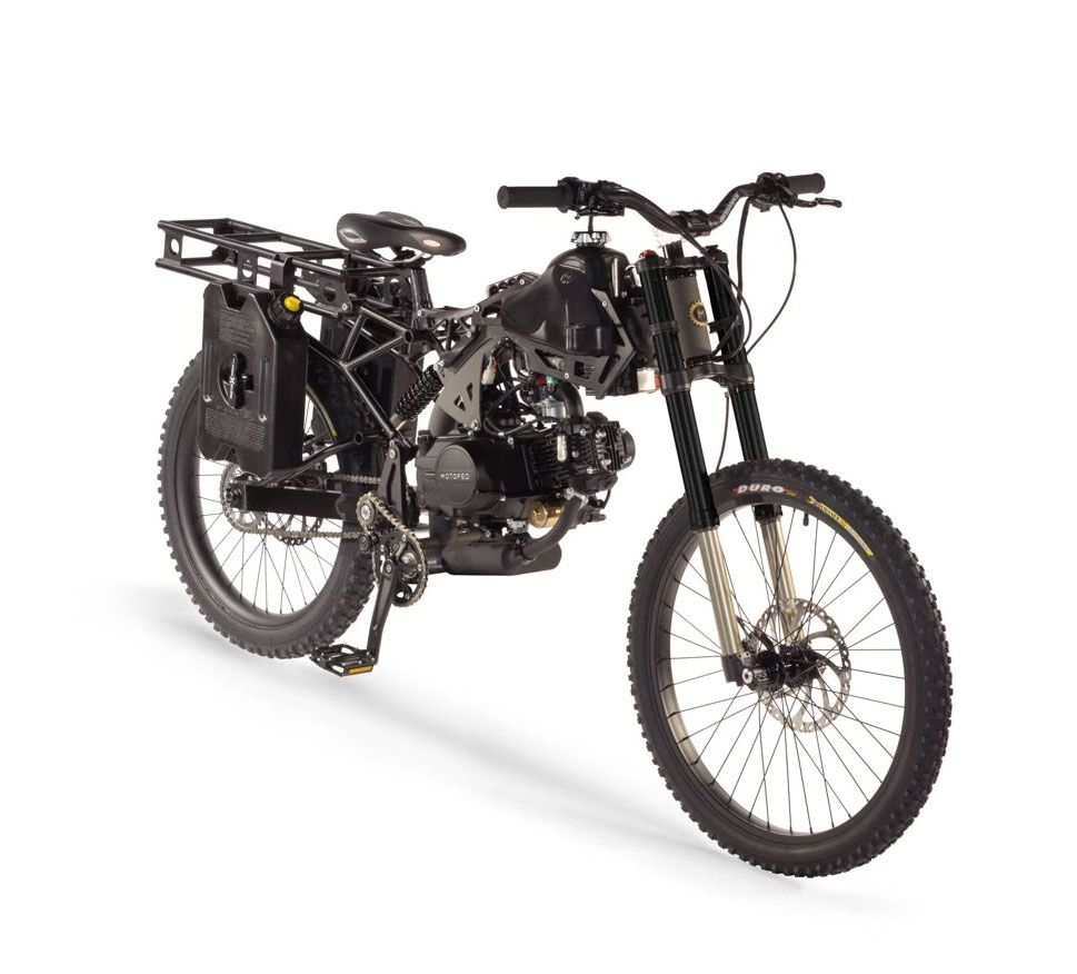 Motoped Survival Bike Bike Bicycle Motorized Bicycle
