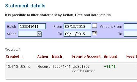 AdClickXpress is one of the best online money making business - best of 10 copy of profit and loss statement