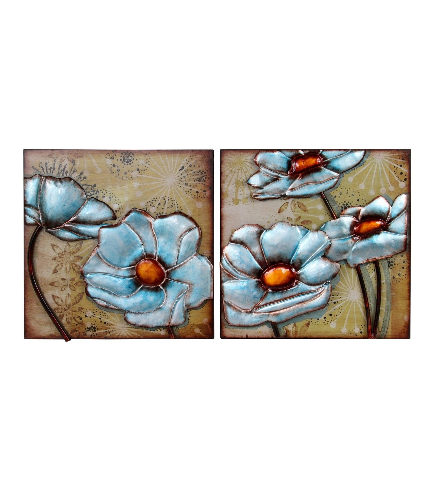 Privilege piece floral wall frames set wayfair for the home