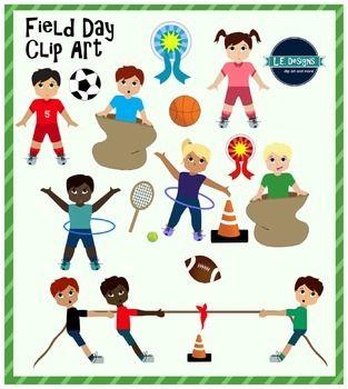 Field Day Clipart Field Day Clip Art Creative Teaching
