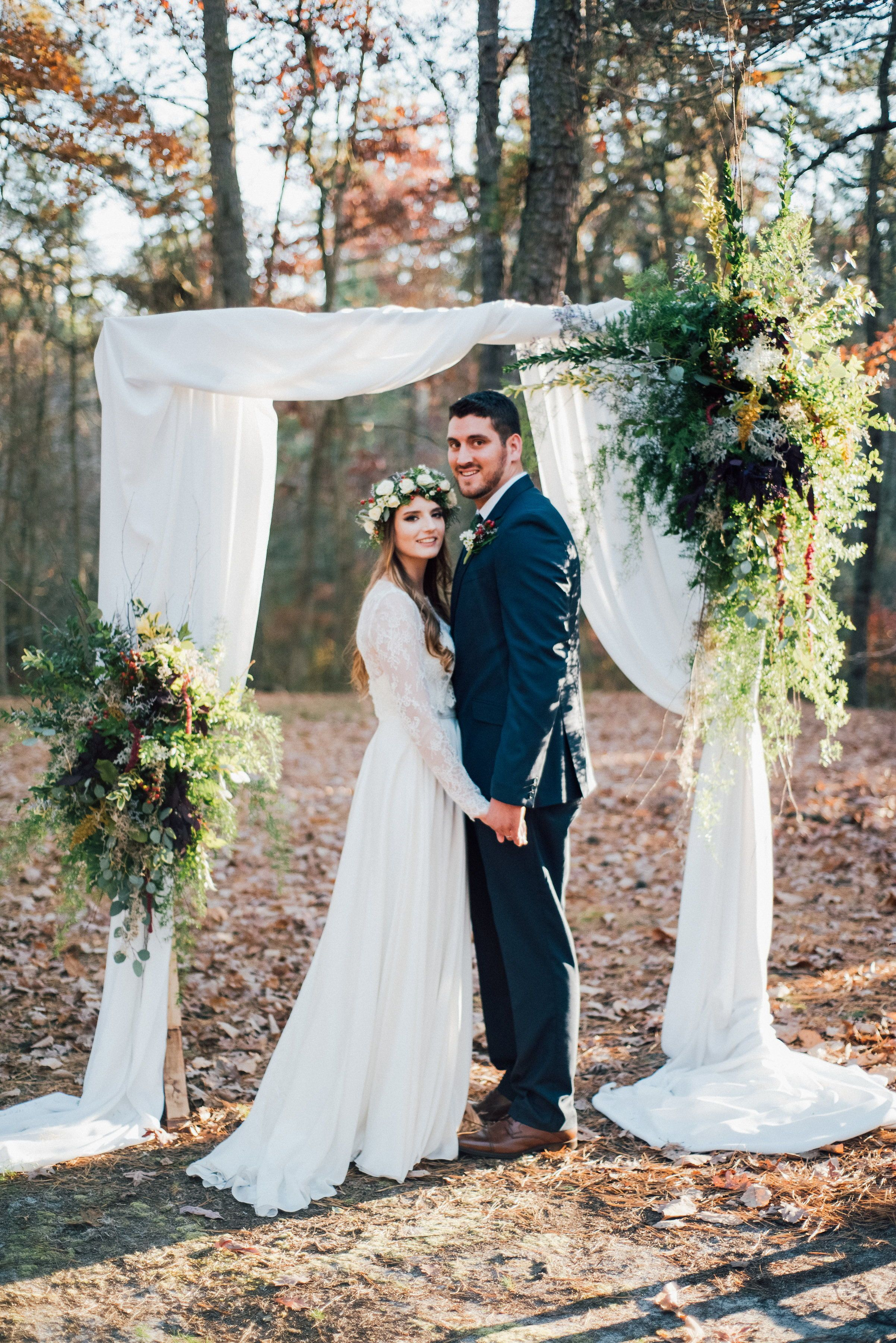 Wedding decorations rustic october 2018 Fall Wedding Outdoor Ceremony  wedding ideas  Fall bohemian