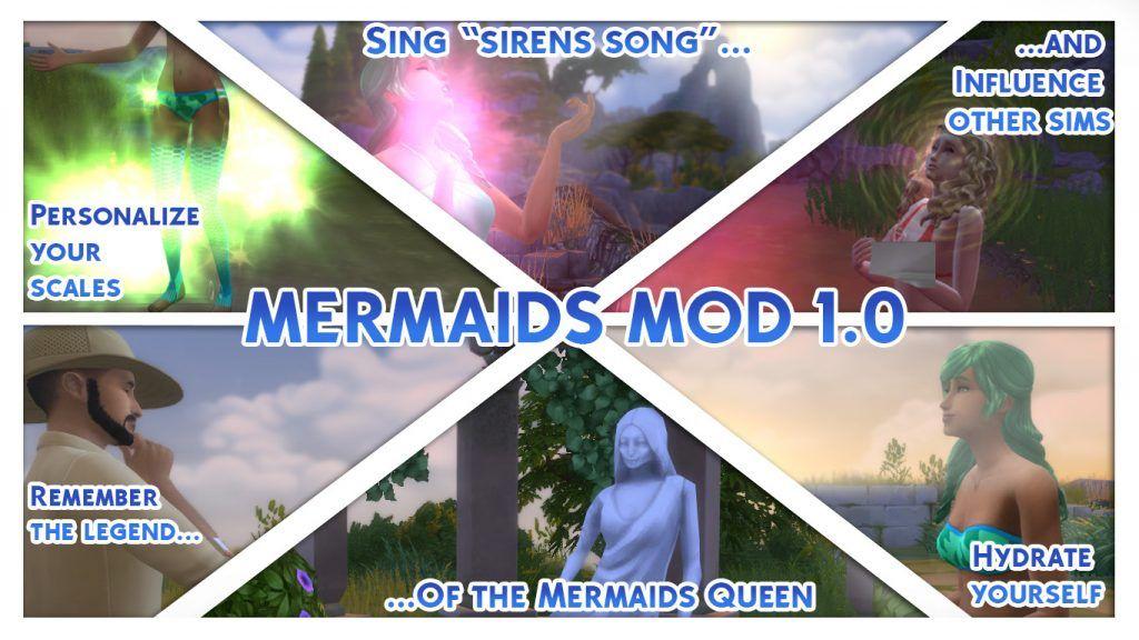 The Sims 4 Mod Spotlight Fairies And Mermaids Sims 4 Sims 4 Mods Sims 4 Traits