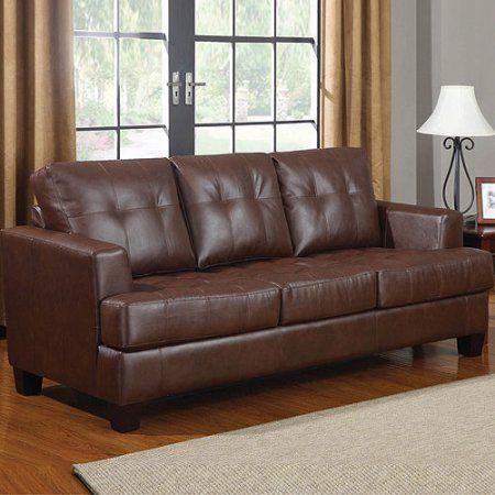 Best Coaster Samuel Bonded Leather Sofa Sleeper Multiple 400 x 300