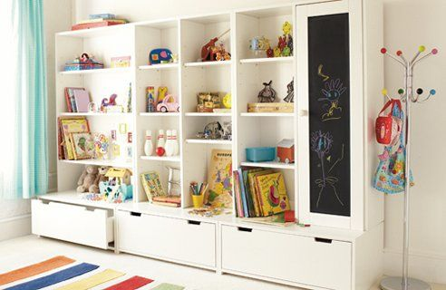 20 Creative Storage Ideas For Small Bedrooms Fun Bedroom Ideas Decorating Storage Kids Room Toy Room Storage Ikea Toy Storage