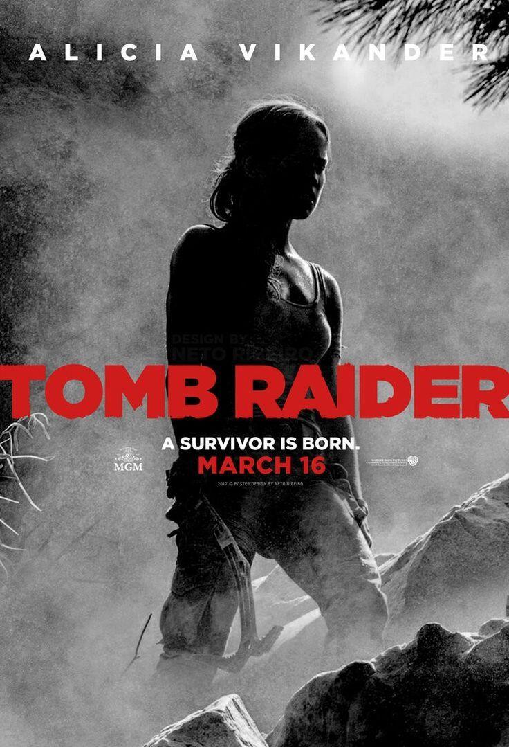 Image result for tomb raider 2018 movie poster   Movie Watchlist ...