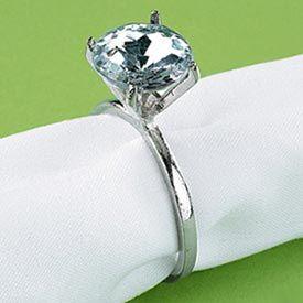 ring 12 plastic diamond ring - Plastic Wedding Rings