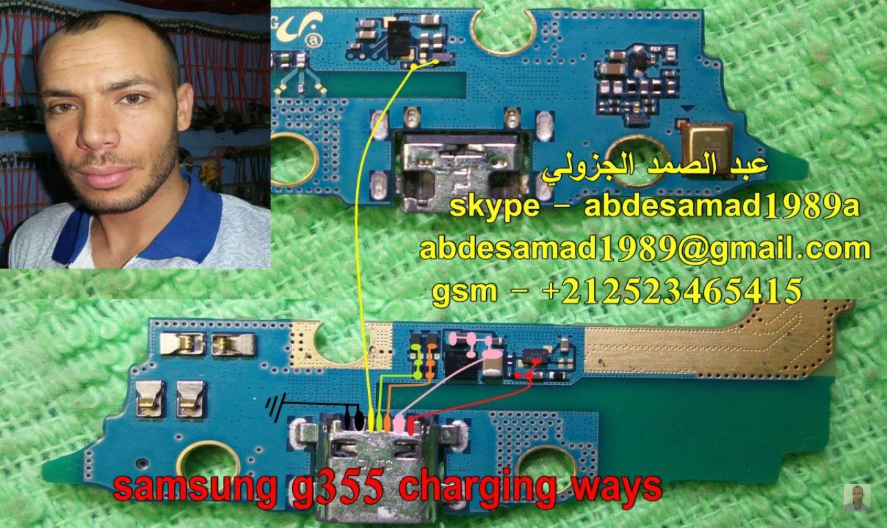 Samsung Galaxy Core 2 G355 Charging Solution Jumper