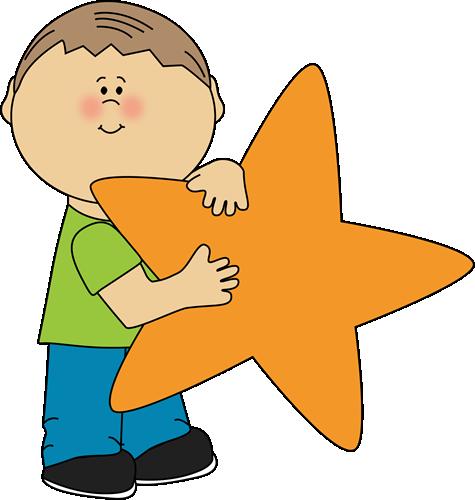 star clip art an orange star clip art image little boy holding a rh pinterest ca clipart little boy pictures clipart little boy praying