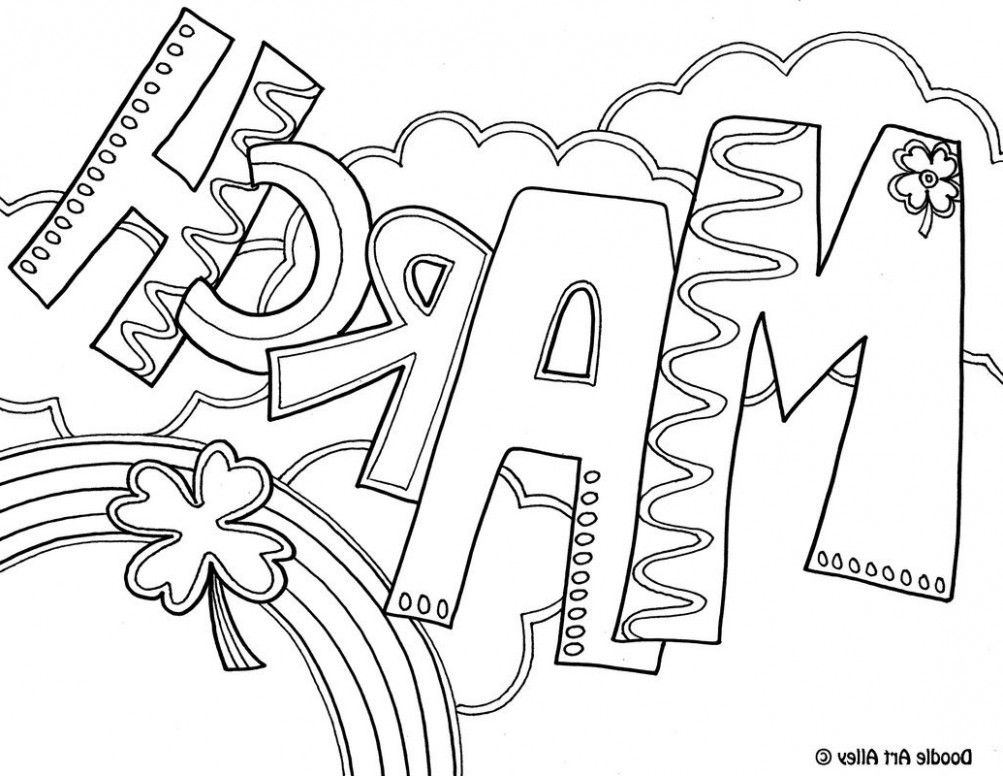 15 Facts About Free Printable March Coloring Sheets That