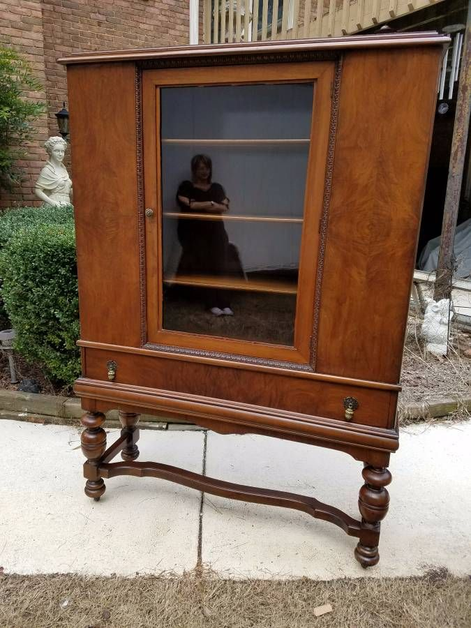 Antique Buffet and China Cabinet (With images) | Antique ...