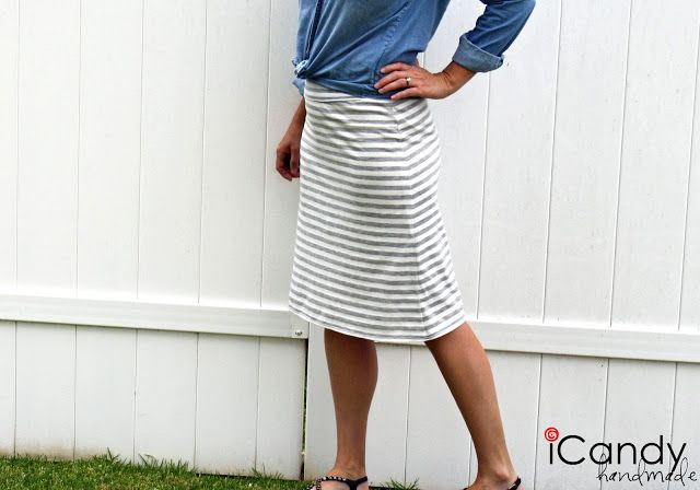 Everyday Basics: The Everyday Skirt - iCandy handmade | sewing ...