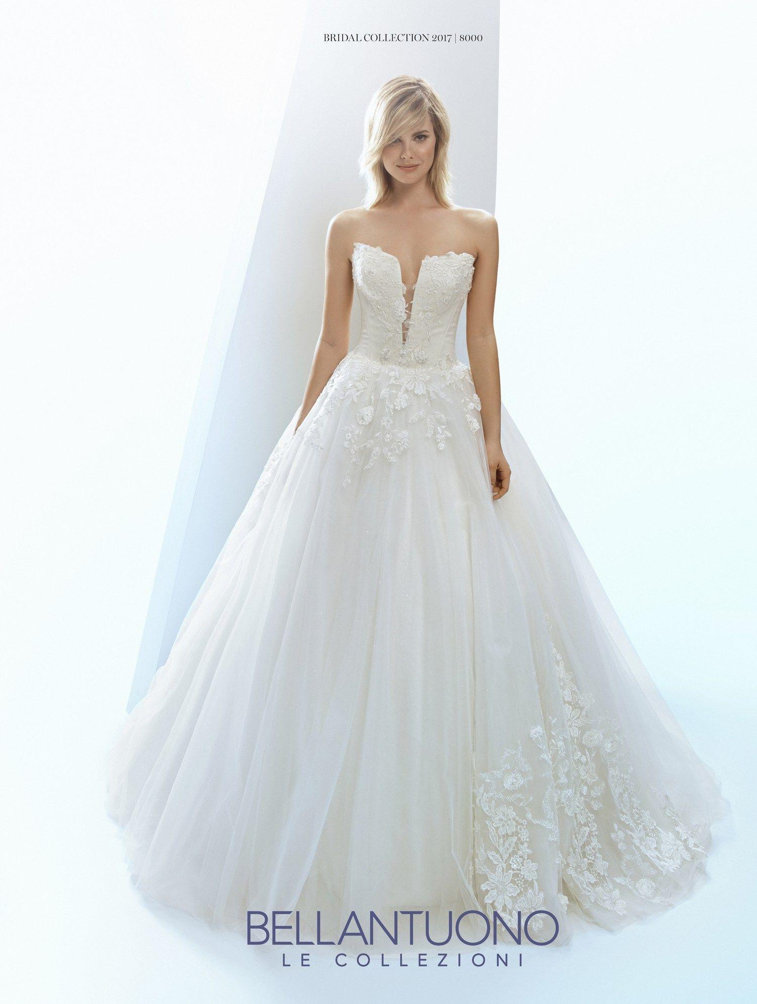 La sposa pandora wedding dress  Bellantuono Le Collezioni    Abiti da sposa  u Fashion Loox