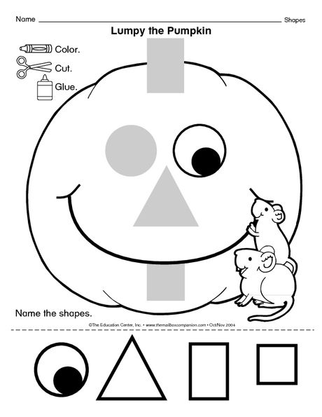 Lumpy the Pumpkin - The Mailbox | Education | Pinterest | School ...