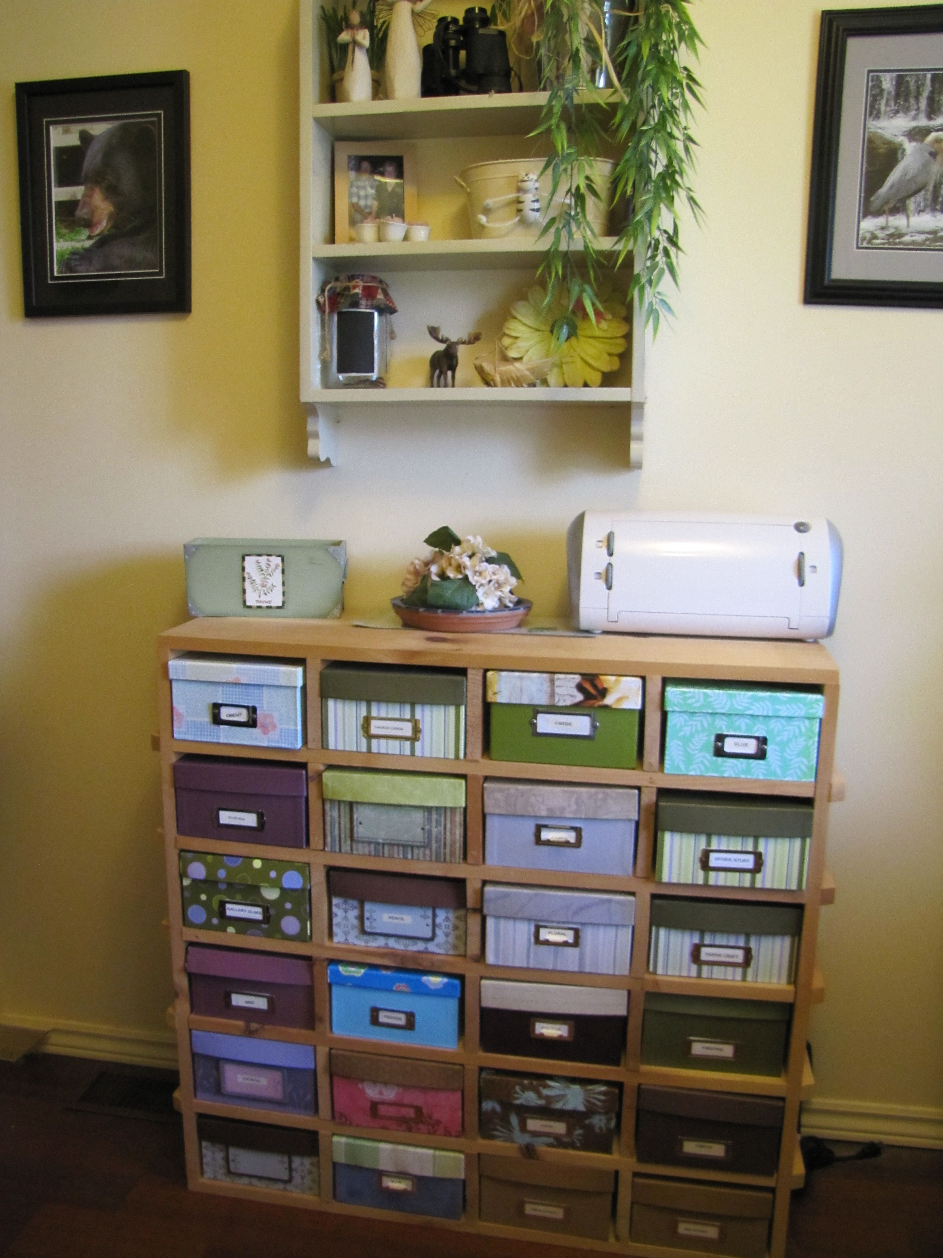 Organize anything by using boxes from Michaels. Create a ...