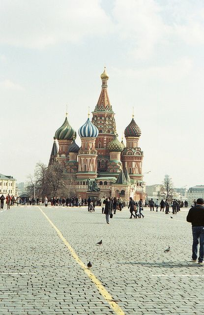 St. Basil's Cathedral, Moscow #travel #travelinspiration #travelphotography