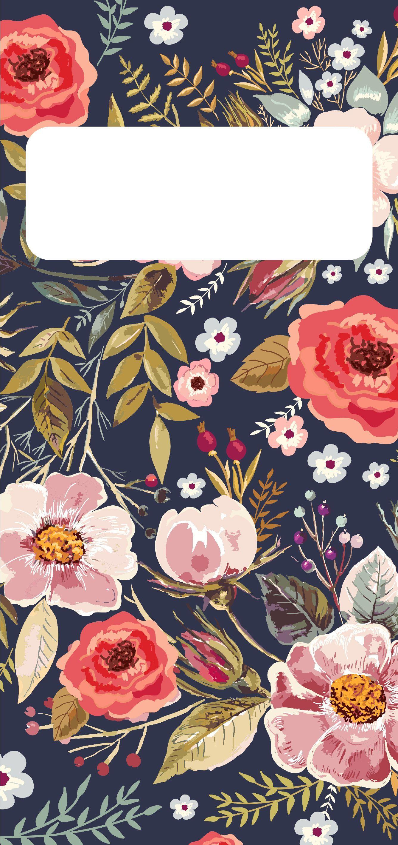 Fall Floral Wallpaper For Iphone Fallwallpaperiphone Cute Free