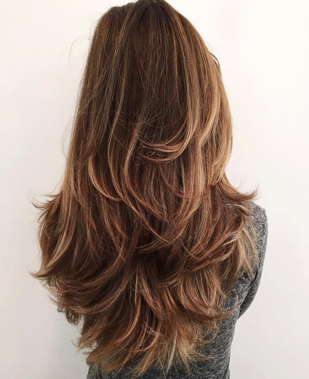 50 lovely long shag haircuts for effortless stylish looks | frisuren