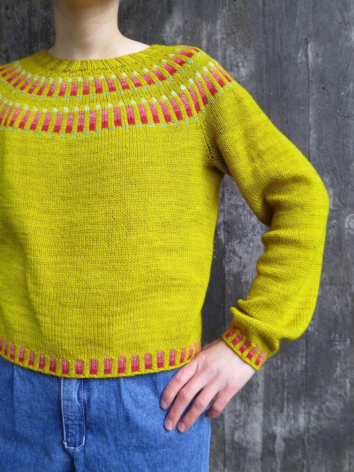 bbebf4429 Flöjten Sweater pattern by The Weststrand Sisters