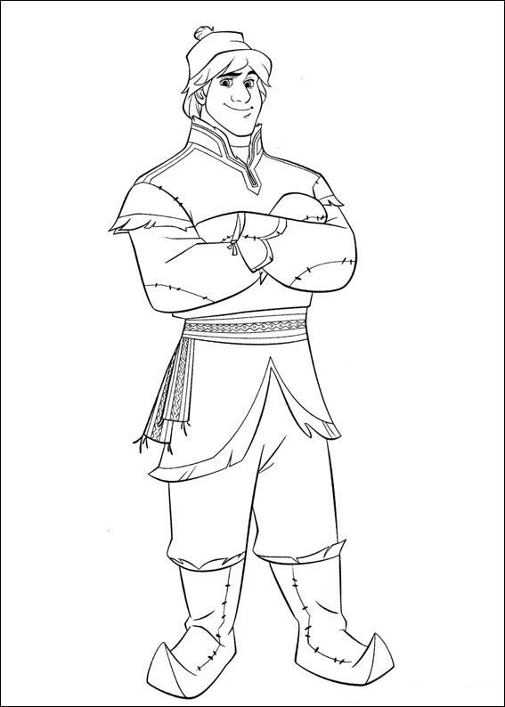Kleurplaten Frozen Hans.Kleurplaat Frozen Frozen Dibujos Frozen Coloring Pages Disney