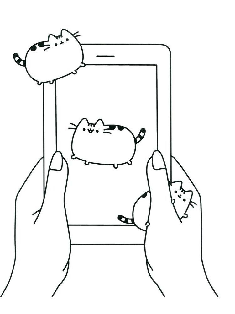 - Pusheen Coloring Pages Summer. The Following Is Our Collection Of Easy Pusheen  Coloring Page. You … Pusheen Coloring Pages, Cartoon Coloring Pages,  Coloring Pages