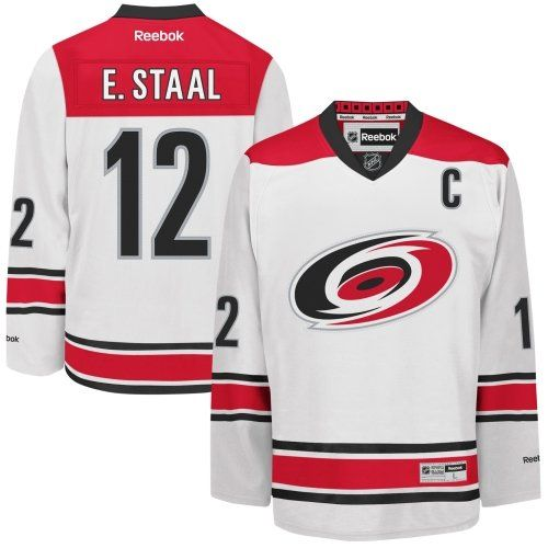Reebok NHL Carolina Hurricanes Eric Staal  12 Jersey   Sports   Outdoors cc49255b8