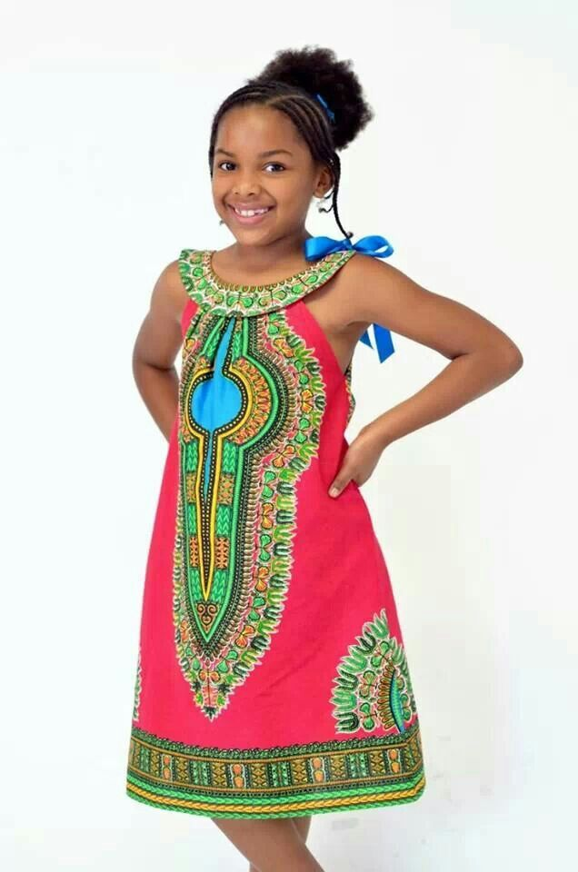 African children's styles