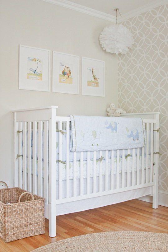 Cooper's Soothing Neutral Nursery in 2020 Baby room