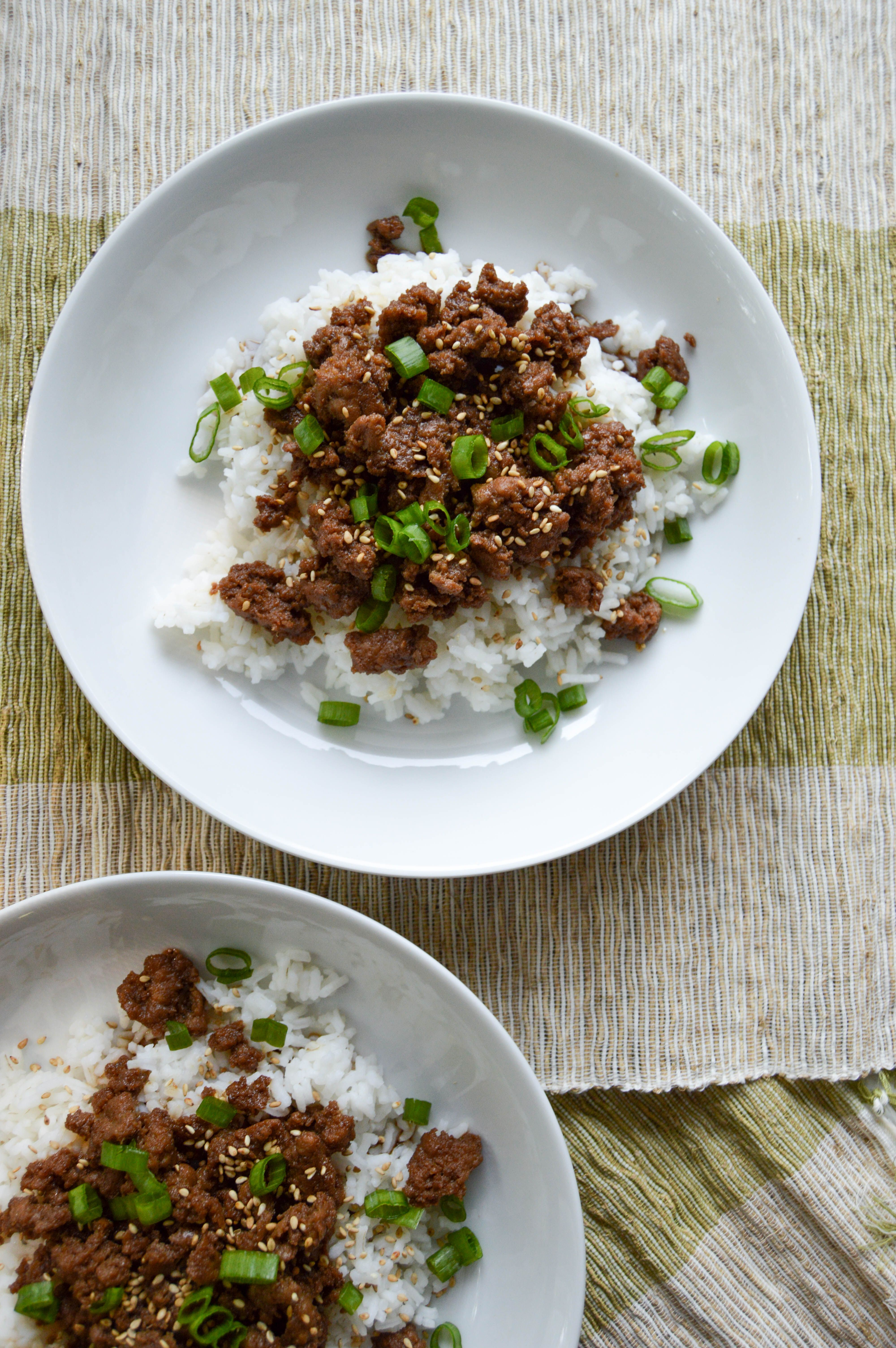 Korean Ground Turkey Bowls | My New Go-To Health(ier) Recipe