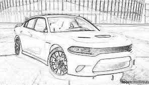 Image Result For Dodge Charger Coloring Pages Dodge Charger Car