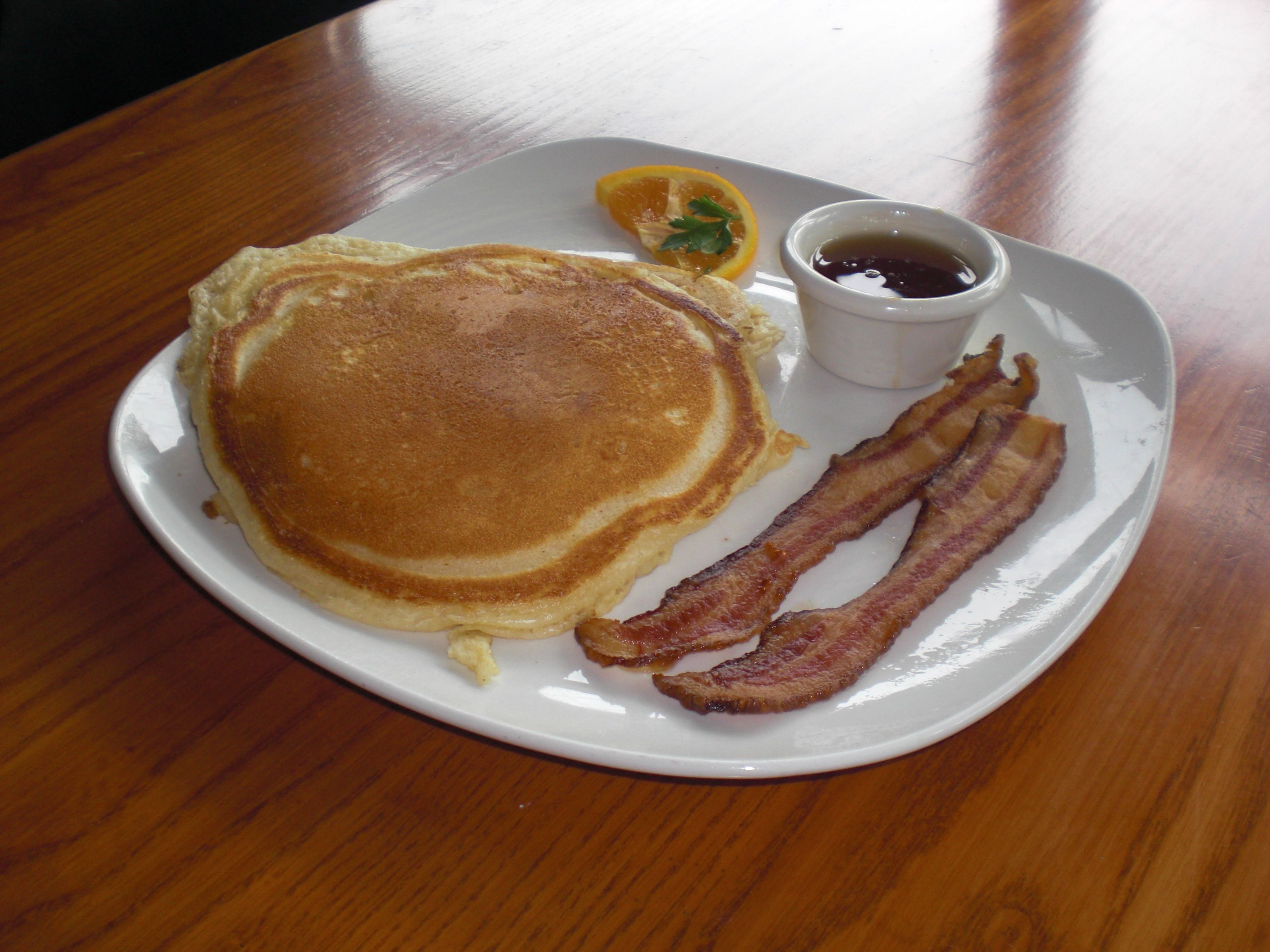 Enjoy Some Pancakesfast Carb With A Side Of Baconprotein For