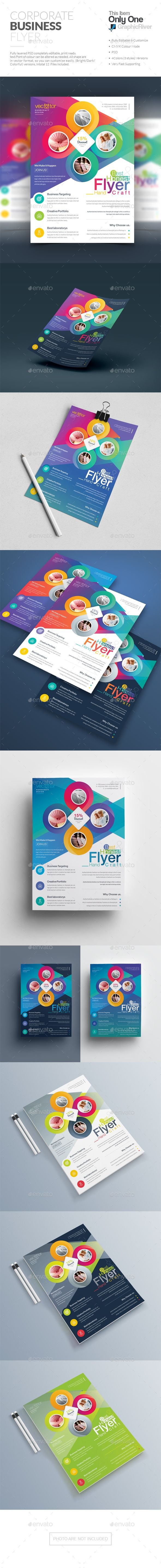 Flyer Design Template PSD | Flyer Templates | Pinterest | Tarjetas ...