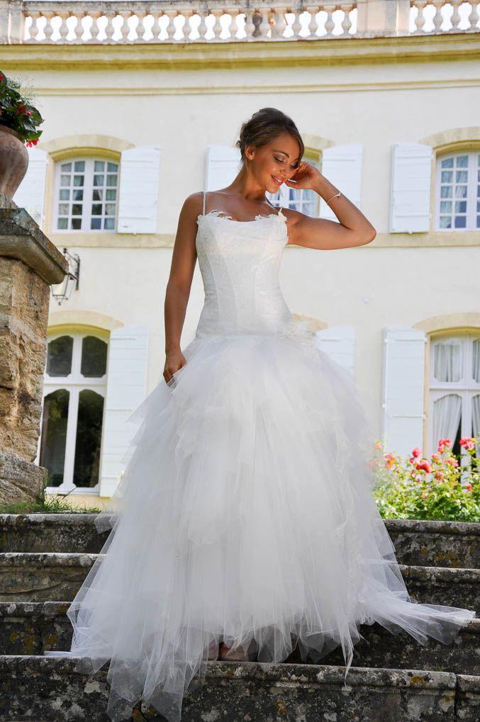 Modèle NOUGAT Robe de mariée transformable