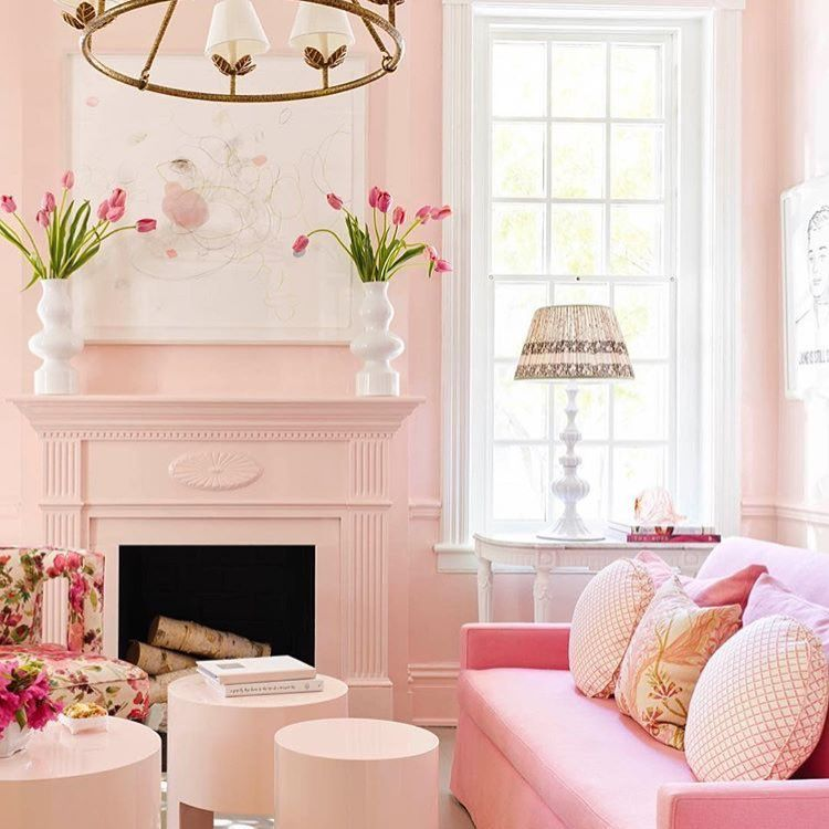 Perfectly Pink Room by Sue Ellen Gregory | Featured in House ...