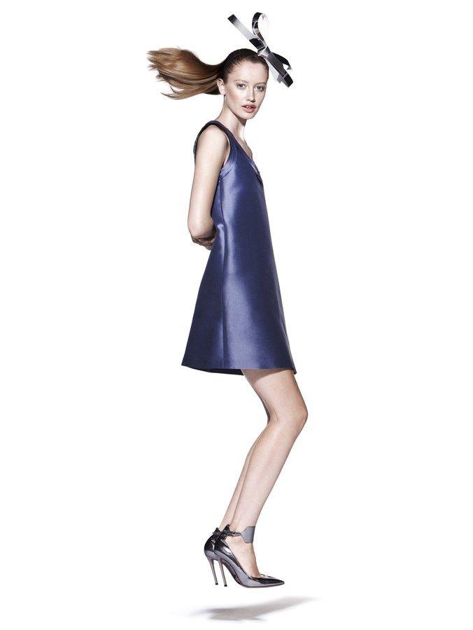 Emporio #Armani twill dress