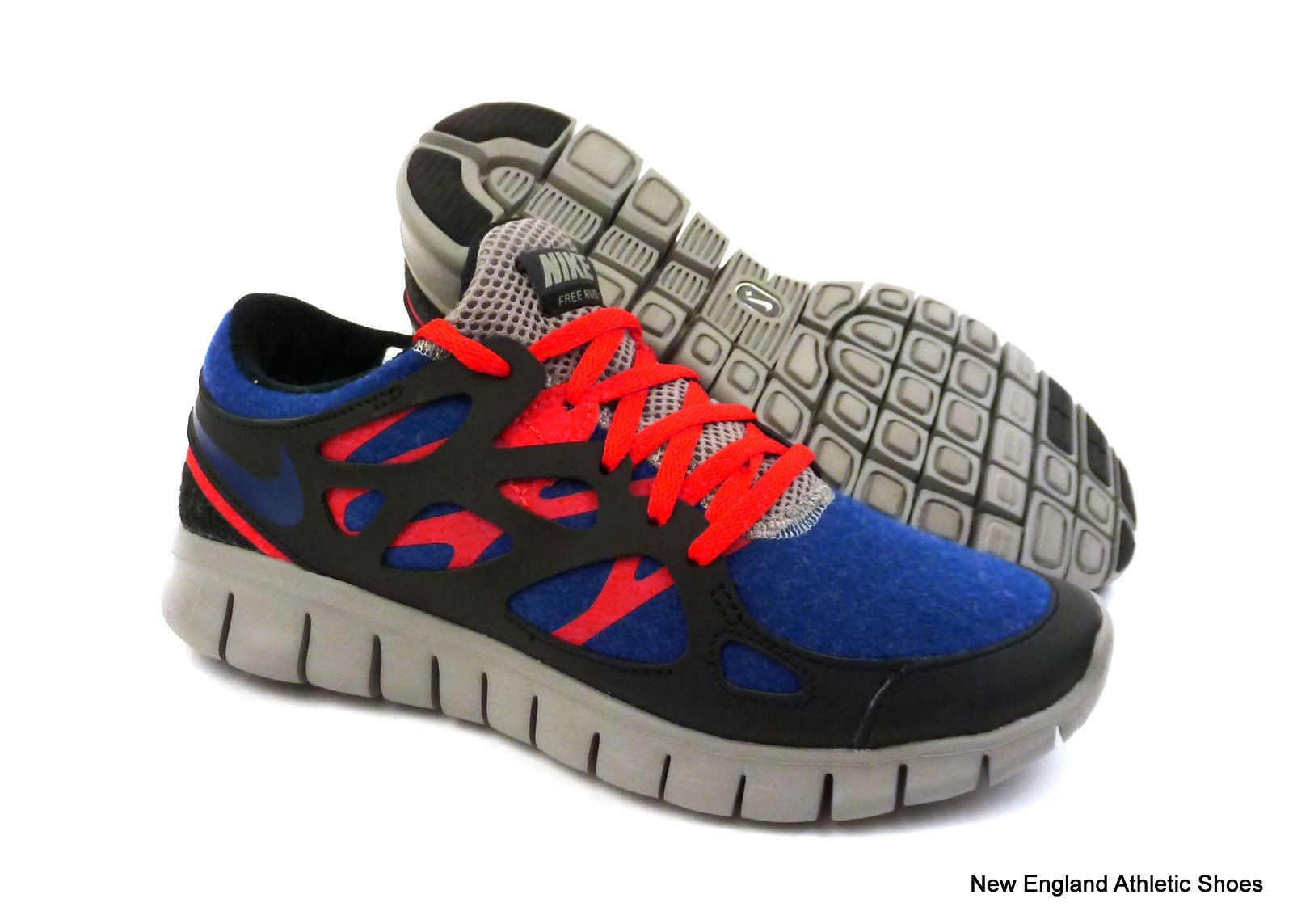 1d85c6743287 ... italy nike women free run 2 ext running shoes deep royal blue black 100  f205d b227e ...