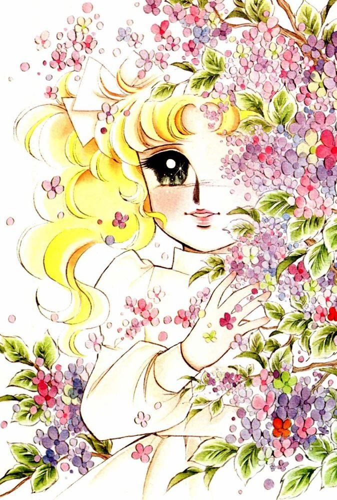 Candy Candy by Yumiko Igarashi Τέχνη anime, Ζωγραφική