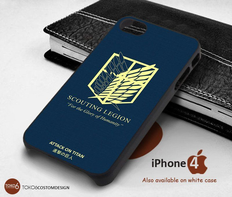 Attack On Titan Logo Wings for iPhone 4/4S, iPhone 5/5S, iPhone 6