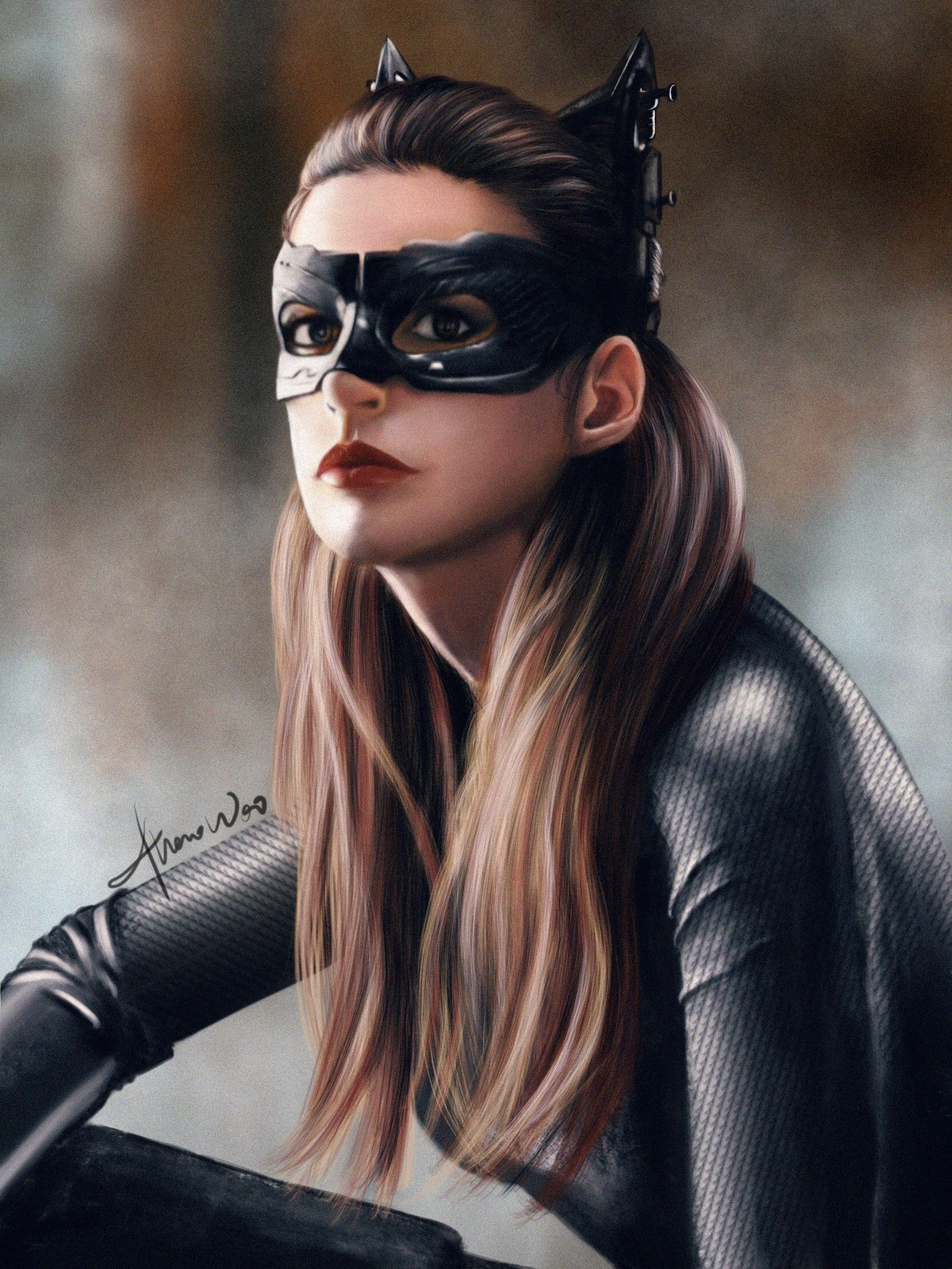 Catwoman From The Movie Dark Knight Catwoman Mulher Gato