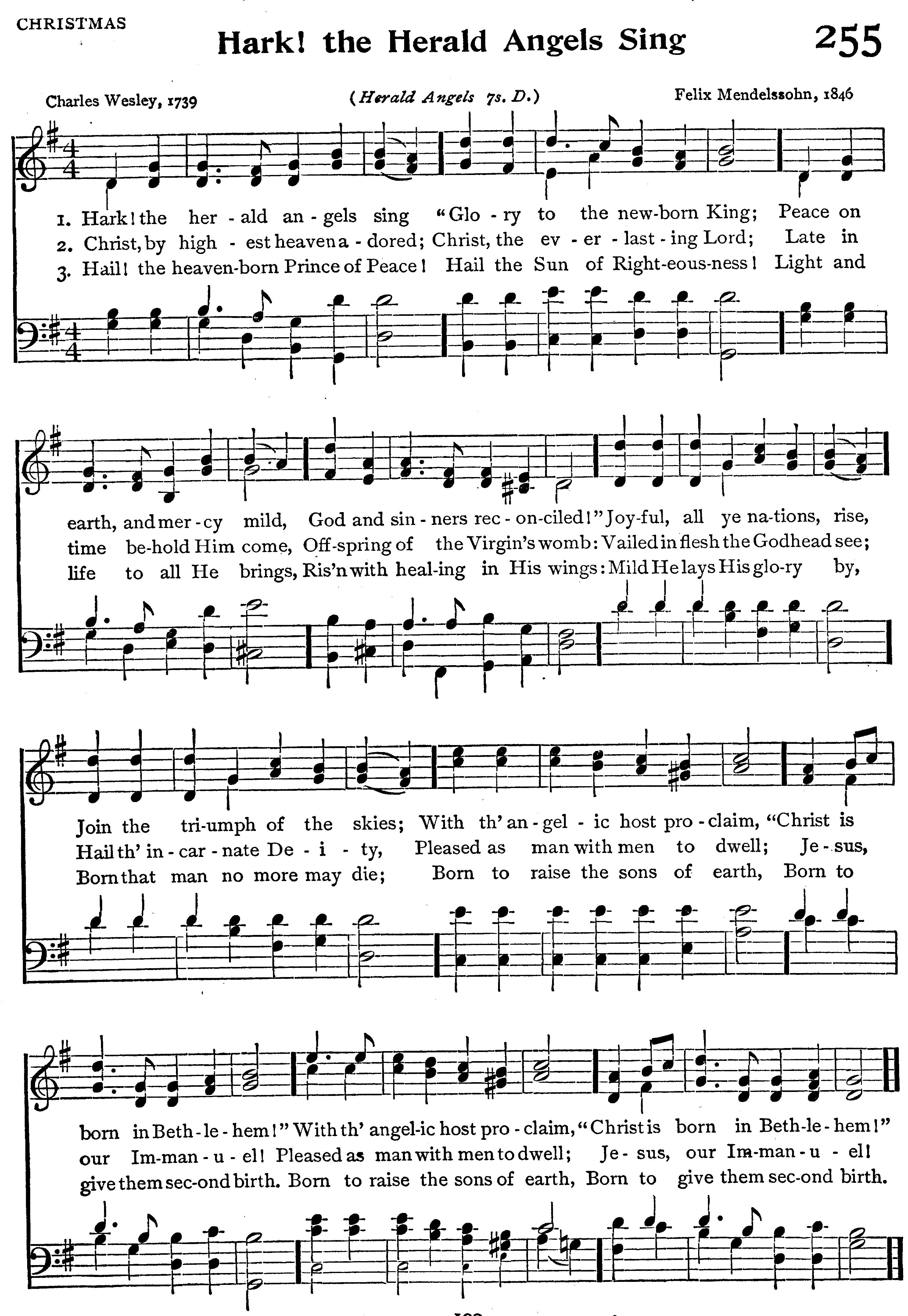 Hark the herald angels sing | Hark! The Herald Angels Sing | Making ...