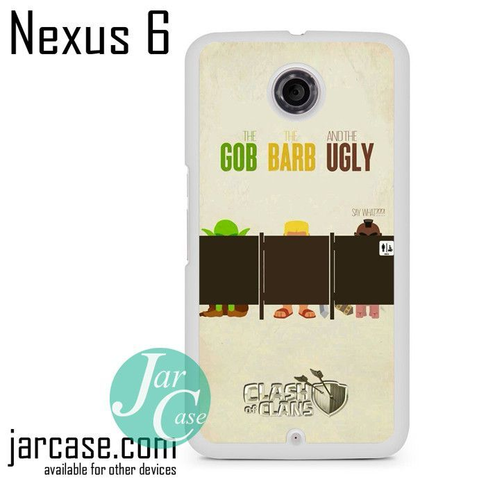 Clash Of Clans Gob Barb Ugly Phone case for Nexus 4/5/6