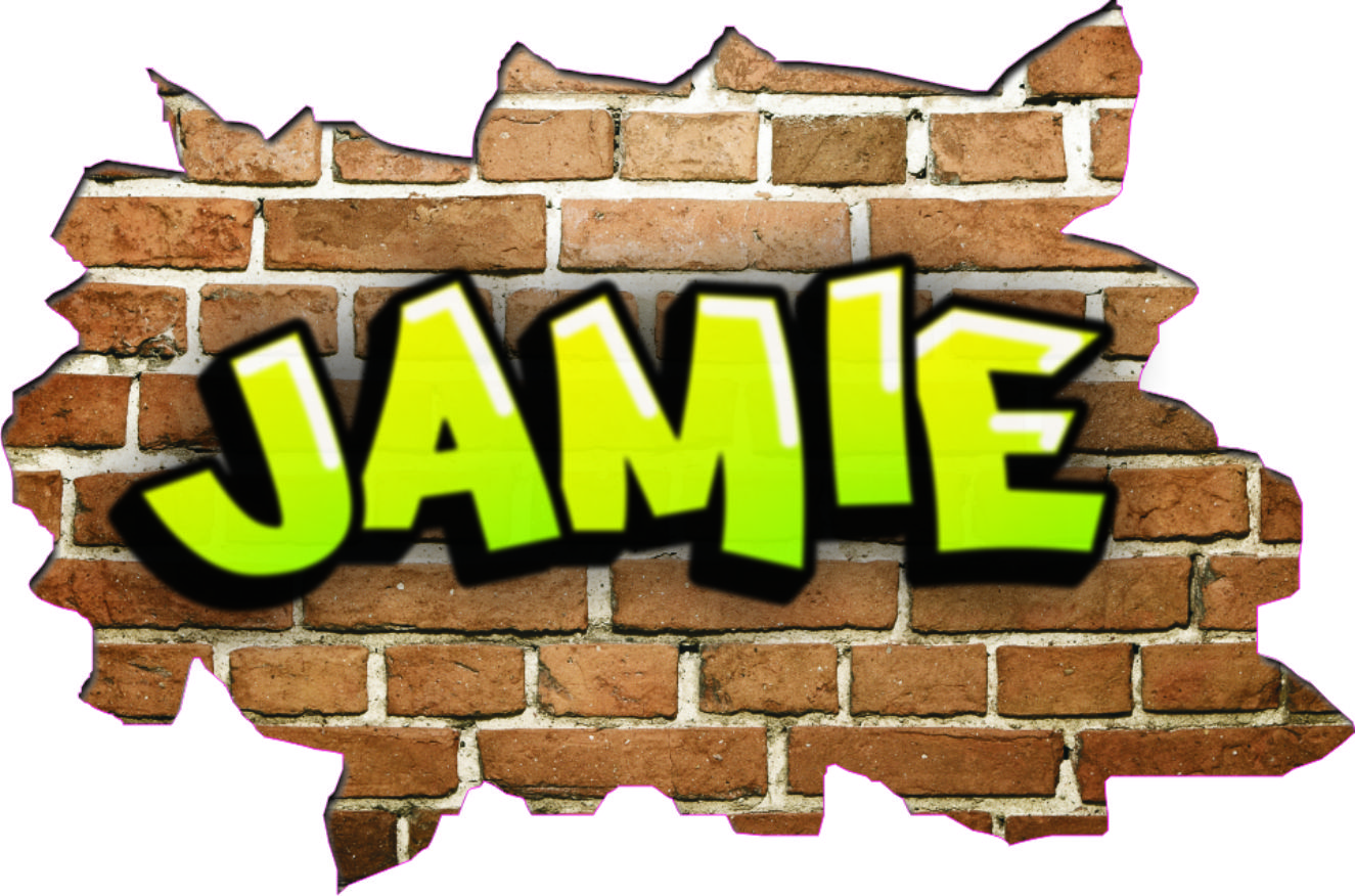 personalised wall stickers personalised name graffiti wall art personalised wall stickers