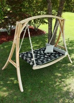diy pergola hammock stand - Google Search