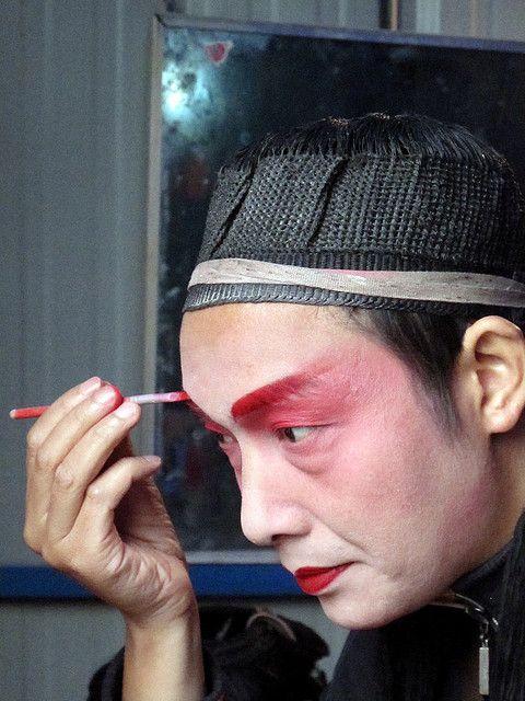 Sichuan Opera is dying. Chengdu, China.