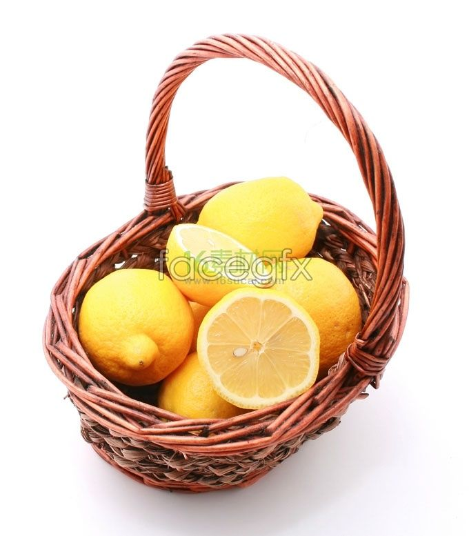 A Basket Of Fresh Lemon Photography High Resolution Images Hd