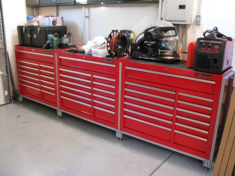 Us General Tool Cart Workbench Project With Images